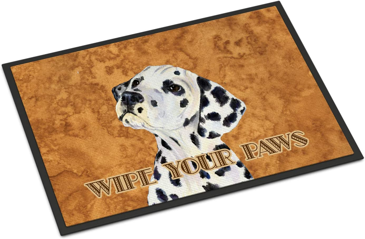 Caroline s Treasures SS4892JMAT Dalmatian Wipe Your Paws Indoor or Outdoor Mat 24×36, 24H X 36W, Multicolor