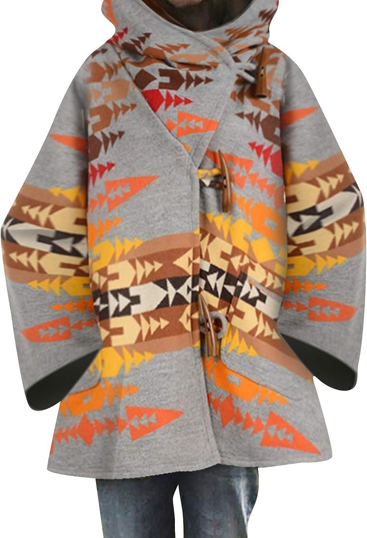 OMZIN Women Lapel Wrap Coat Outwear Long Overcoat Plue Size Jacket