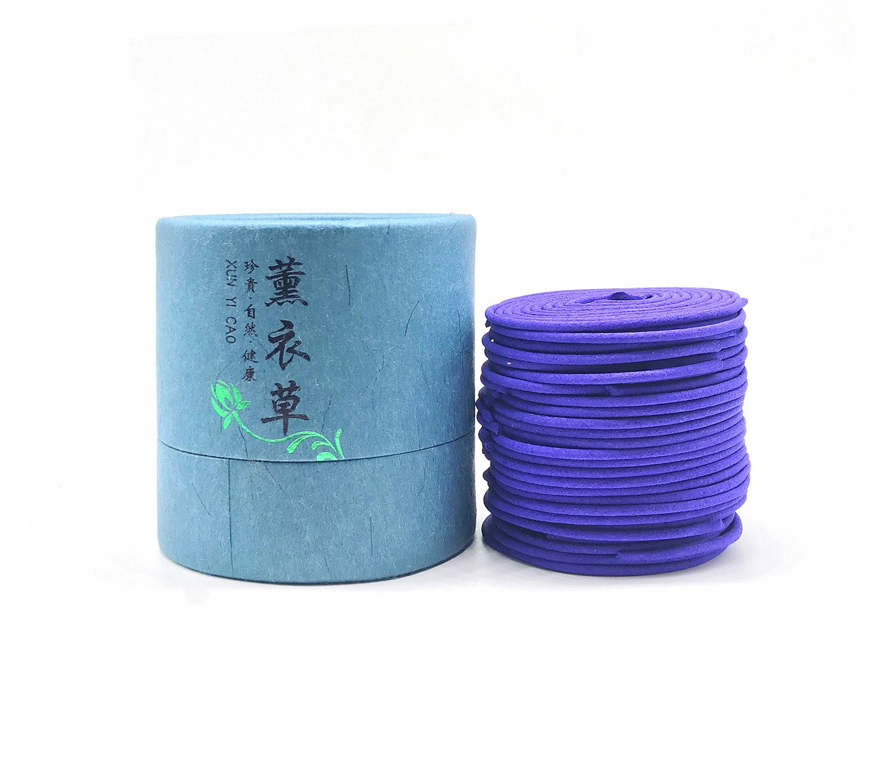 OTOFY Lavender Incense Coil, Set of 48 Coils, lasting Pleasant Fragrant Line incense (Lavender)