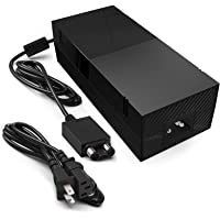 Xbox One Power Supply, Xbox One Power Brick AC Adapter Replacement Charger kit for Xbox One with Power Cord Cable 100-240V Auto Voltage