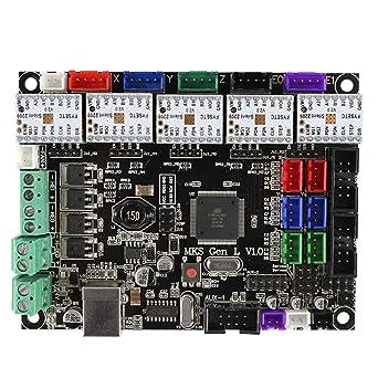 3DプリンターボードMKSGenLV1.0コントローラー5個Ramps1.4/Mega2560R3用TMC2209V2.0