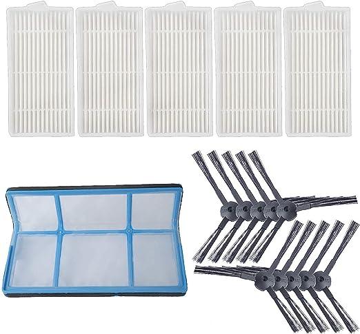 Filter//Bürsten für Ilife V3 V3S V5 V5s Roboter Staubsauger Ersatz Zubehör
