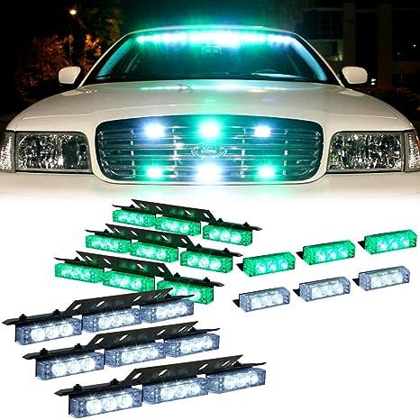 Amazon.com: 54 luces de advertencia LED DT MOTO™ con ...