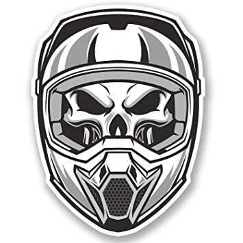 Amazon Fr 2 X Casque Motocross Sticker En Vinyle Pour Ipad
