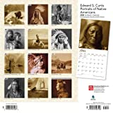Edward S. Curtis Portraits of Native Americans 2020 12 x 12 Inch Monthly Square Wall Calendar, Photography USA America