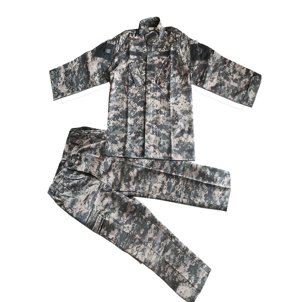 NOGA Children's Camouflage Tactical Suit BDU Uniform Outdoor Parent-Child Coat+Pants