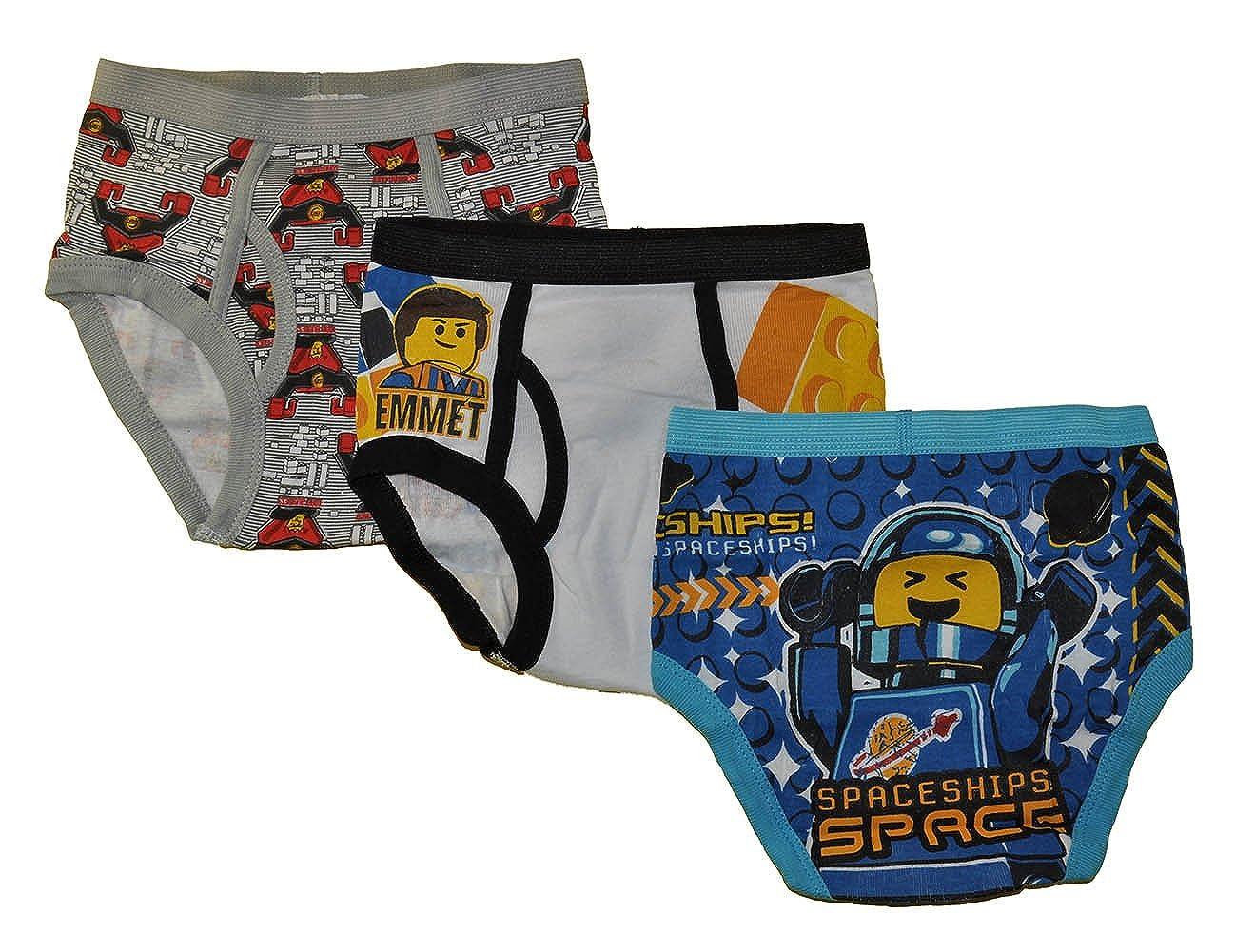The Lego Movie Boys 3 Pack Underwear Briefs