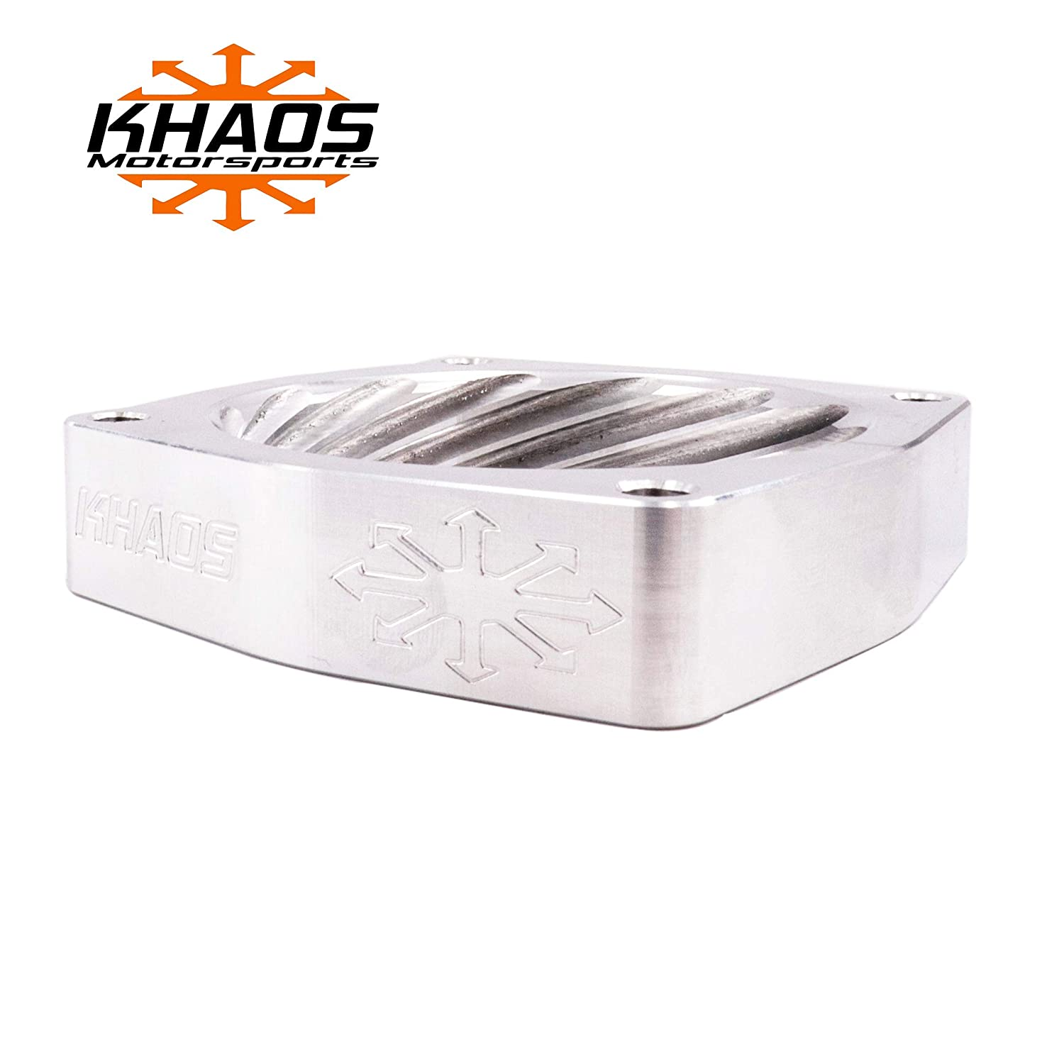 Khaos Motorsports Helix Bore Throttle Body Spacer for Jeep Wrangler 2012-2019 3.6L