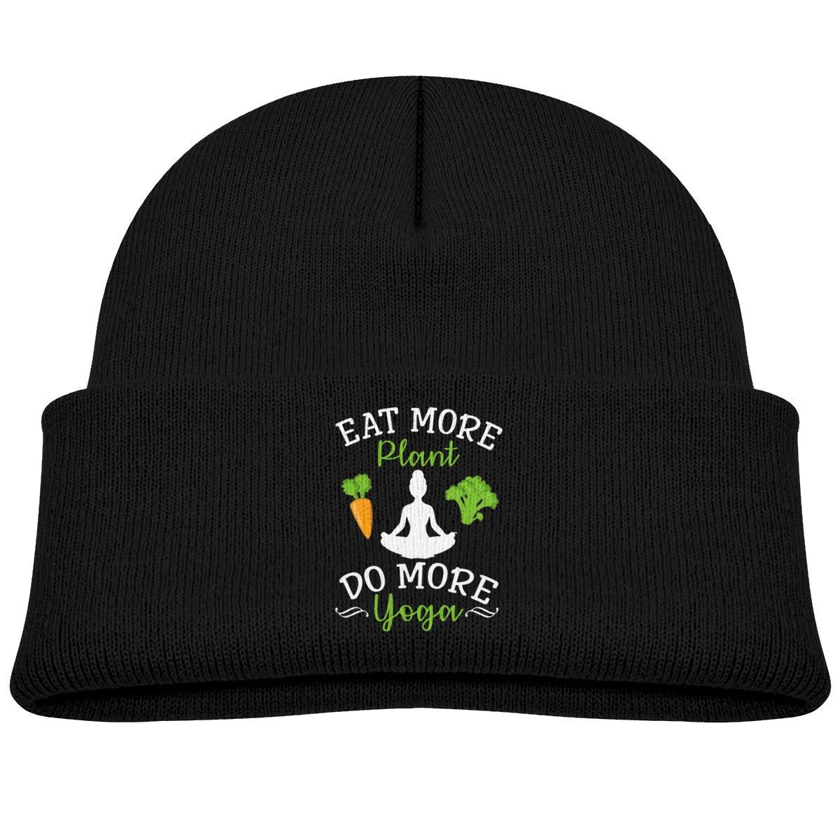Amazon.com: FOECBIR Eat More Plants Do More Yoga Knitted ...