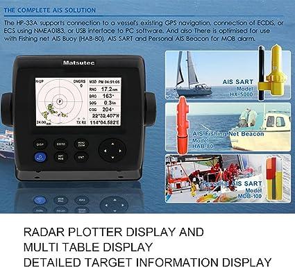 Alta sensibilidad Profesional Matsutec HP-33A Pantalla LCD DE 4.3 ...