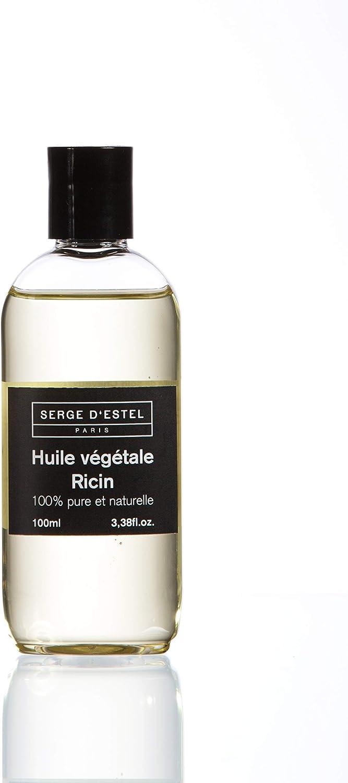 Aceite de Ricino 100ml 100% Puro y Natural. Promueve el Crecimiento del Cabello. Tratamiento de Pelos Rizados