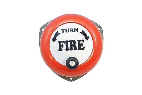 H Roberts Rotary Handbell alarma contra incendios: Amazon.es ...