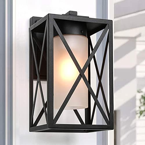 LALUZ Exterior Light Fixtures Wall Mount Outdoor Sconce