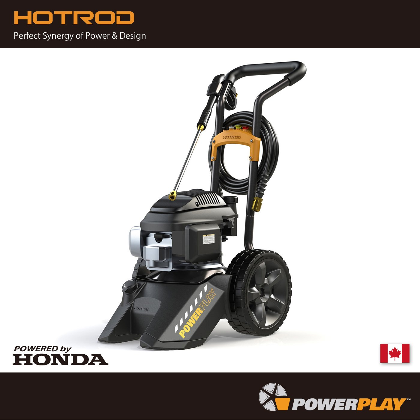 Powerplayエンジン高圧洗浄機[HOTROD]HONDA GCV160 (パワープレイ) B00VHM8AUM