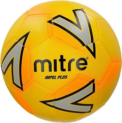 Mitre Impel Plus Balón de Fútbol de Entrenamiento, Unisex Adulto ...