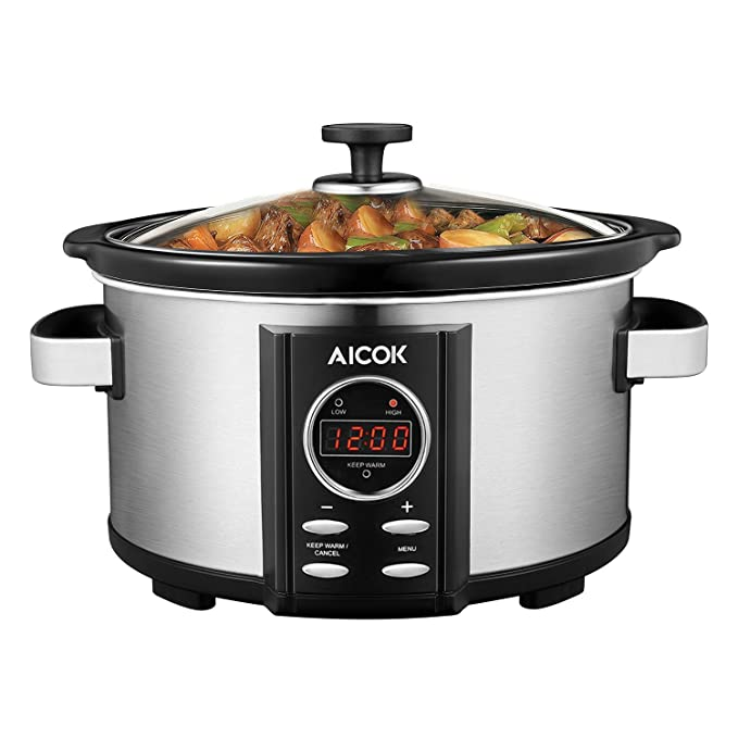 Quale Slow Cooker acquistare - pentola Slow Cooker Aicok 3,5 litri