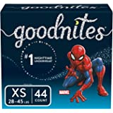 Goodnites New Bedtime Bedwetting Underwear, Boys, XS, 44 Count
