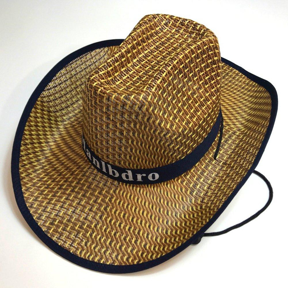 YEKEYI 2Pcs Unisex Woven Straw Round up Cowboy Hat Summer Wide Brim Beach Cap Straw Hat