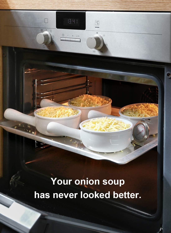 Amazon.com: LE TAUCI [mejorado] cuencos de sopa de cebolla ...