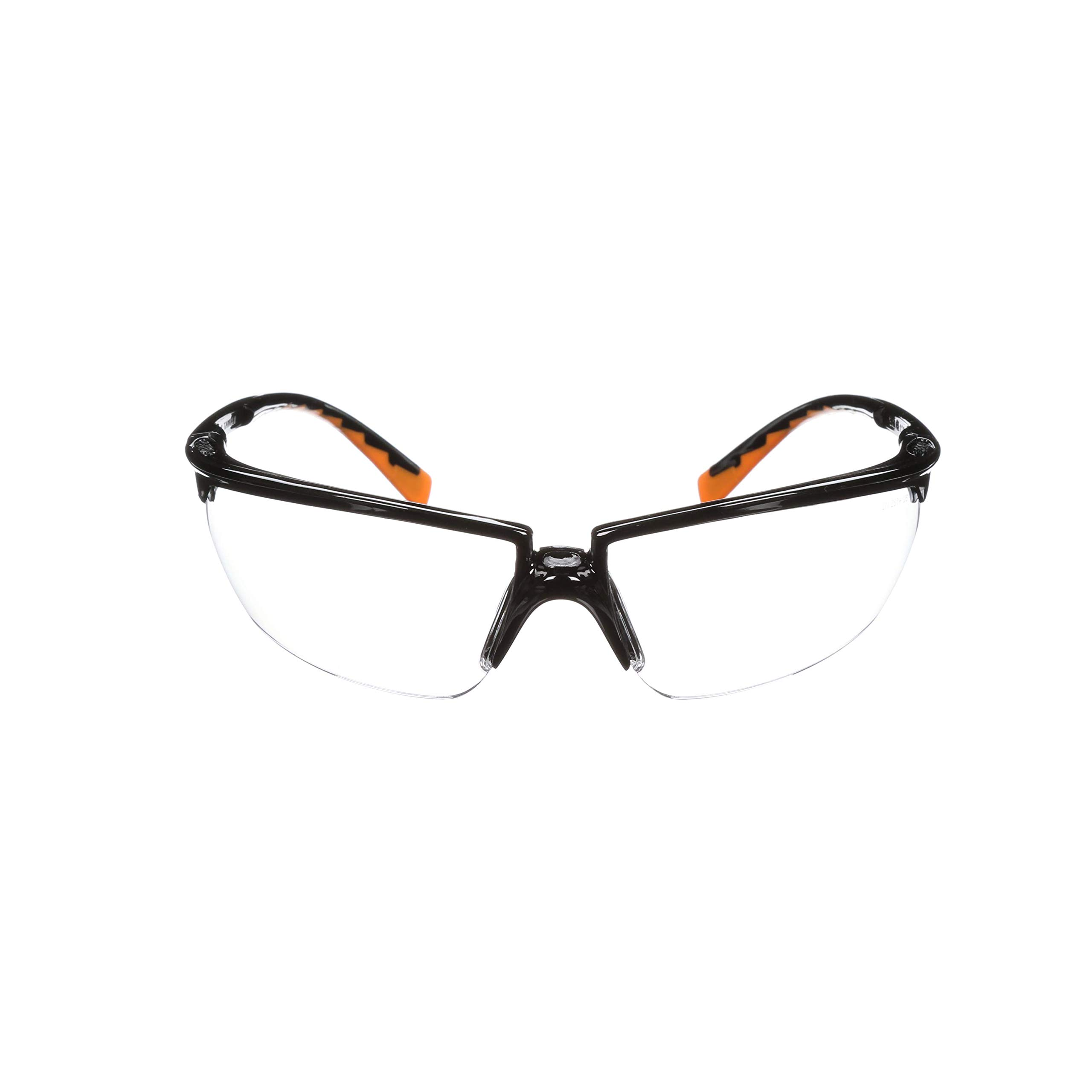 3M Privo Protective Eyewear, 12261-00000-20 Clear Anti-Fog Lens, Black Frame (Pack of 20) by 3M Personal Protective Equipment (Image #1)