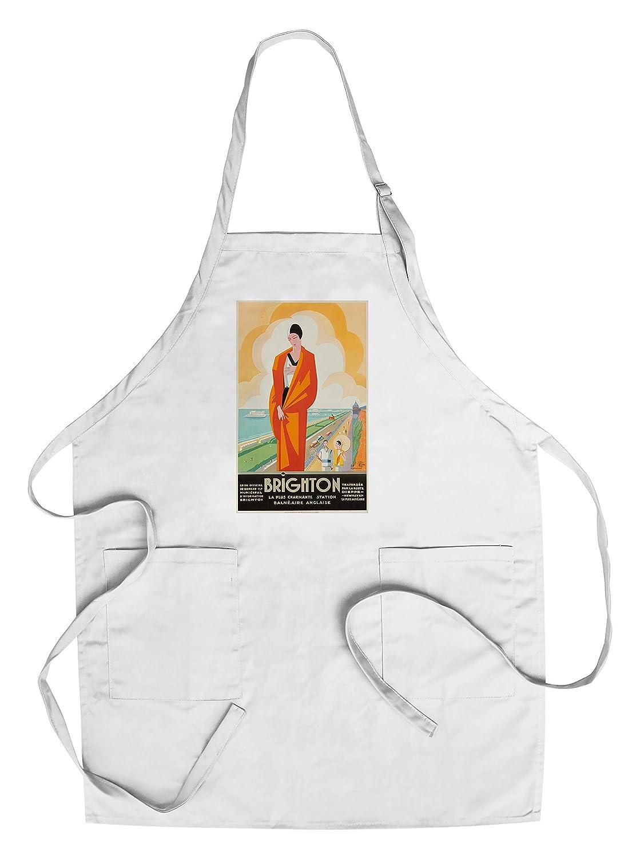 ブライトンヴィンテージポスター(アーティスト: Commarmond )フランスC。1921 Chef's Apron LANT-63537-AP B018NO8SJY  Chef's Apron