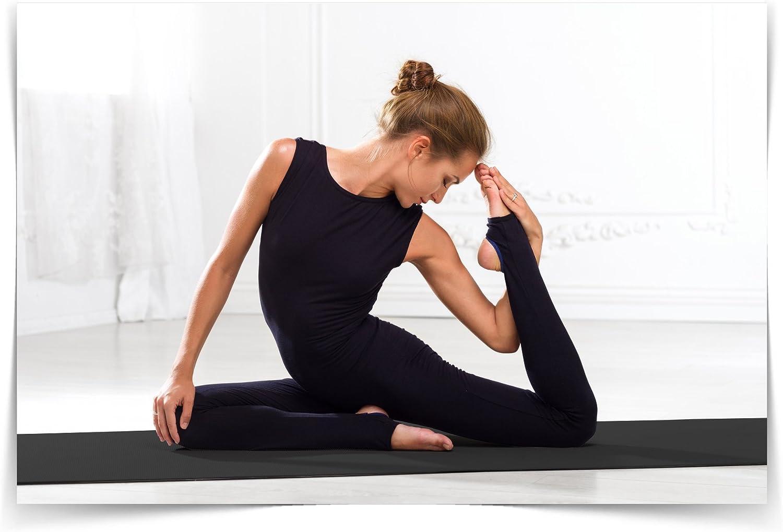 Notar/ás la Diferencia Zenyo Esterilla de Yoga de Espuma Pro con Memoria