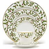 Buy noritake hertford 5 piece place setting online at low prices in noritake holly berry gold 5 piece place setting fandeluxe Image collections