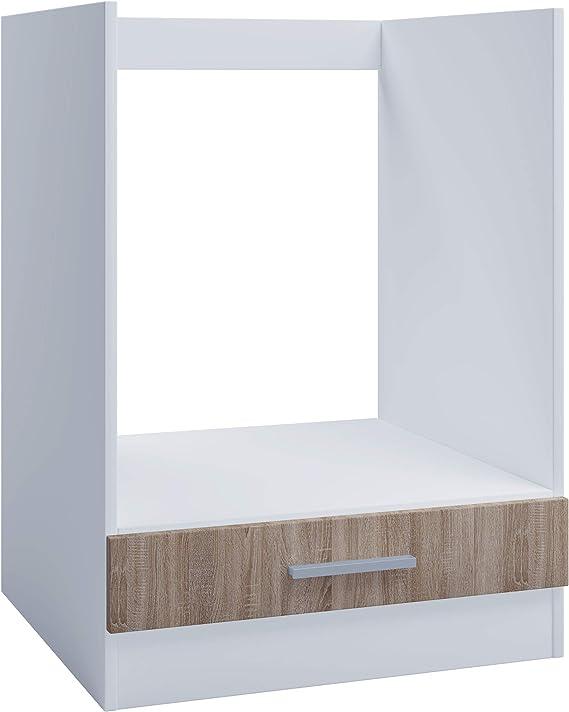 Armario de horno para cocina empotrada de 60 cm, roble sonoma, armario inferior, horno: Amazon.es: Juguetes y juegos