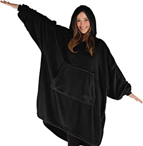 THE COMFY Dream | Oversized Light Microfiber Wearable Blanket, One Size Fits All, Shark Tank