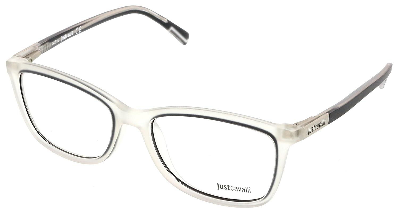 Just Cavalli JC0530//V 027 Clear//Grey Wayfarer Optical Frames