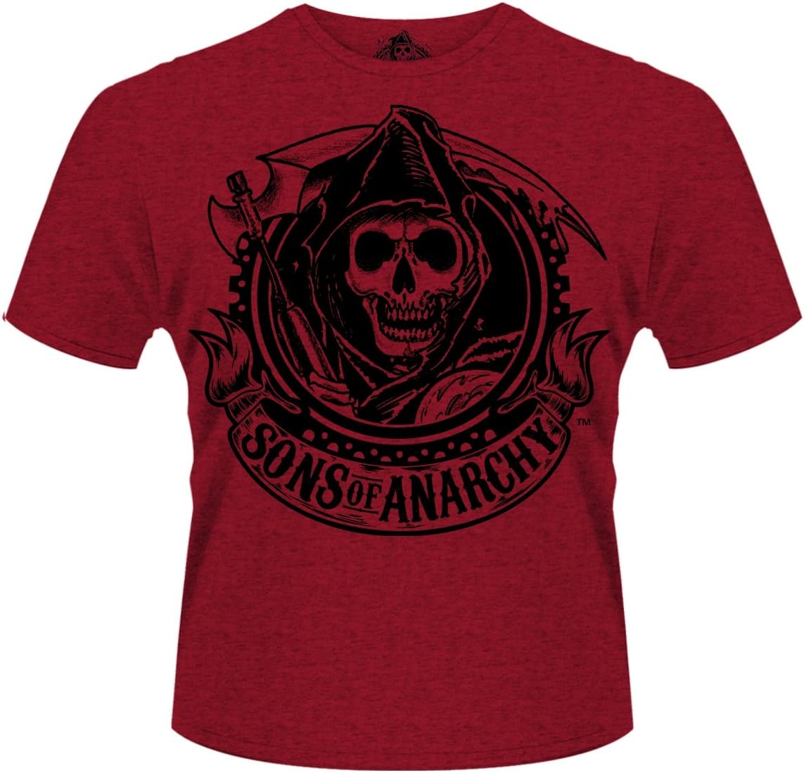 Sons of Anarchy heren T-shirt Reaper Banner