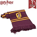 "Amazon Price History for:Harry Potter Scarf By HIZBO MART ● 76"" ● Ultra Soft Fabric ●Gryffindor"