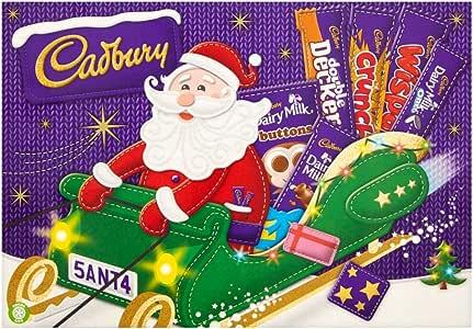 Cadbury Medium Santa Selection, 169G
