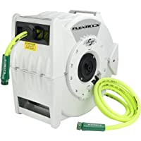 Flexzilla Retractable Water Hose Reel with Levelwind