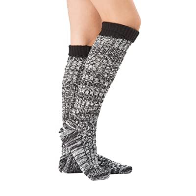 100/% Wool Leg Warmers Knitted Lady Woven Warm Winter Knee High Long Cold Crotchet