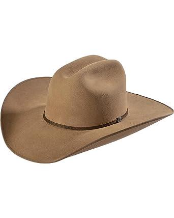 Justin Men s Bent Rail 7X Hooch Pecan Fur Felt Cowboy Hat at Amazon ... 3b1ffc2ba45