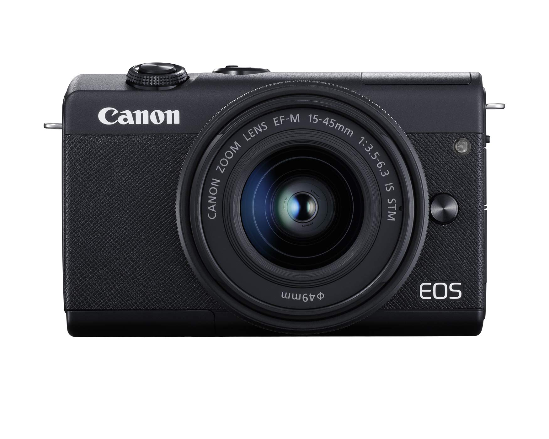 Canon EOS M200 EF-M 15-45mm is STM Kit (Black) by Canon