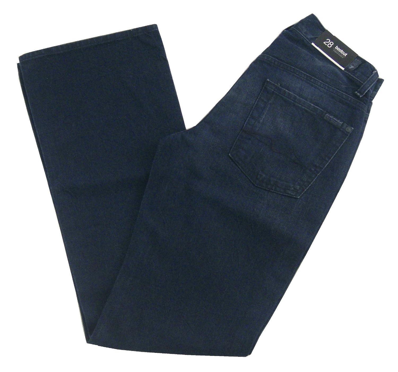 7 For All Mankind Men's Original Bootcut Jeans, Dark Blue