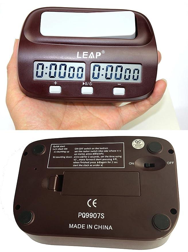 KALESI Reloj Digital de Ajedrez, Tiene Una Caja de Regalo de Marca, es el Regalo Perfecto Para el Jugador.: Amazon.es: Juguetes y juegos