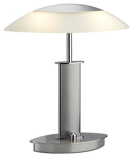 Holtkoetter 6244 PNSN CHA Halogen Table Lamp, 12.25u0026quot; X 7u0026quot; X  11u0026quot;
