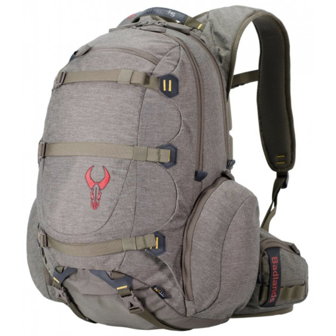 Badlands Superday Hunting Backpack - Bow, Rifle, and Pistol Compatible, Solid