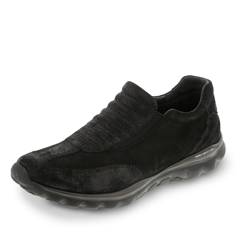 Gabor Women's Damen Slipper Schwarz Loafer Flats Black Black