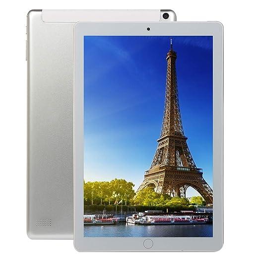 Meiyiu 10.1 Pulgadas 8 + 128GB 4G-LTE Tablet PC IPS HD Pantalla ...