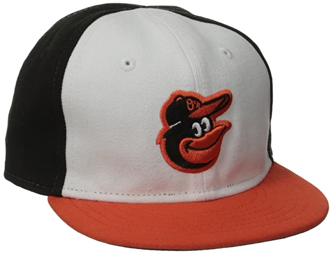 c6479f53b80 New Era Men s My First Authentic Collection Baltimore Orioles Home Youth White  Hat 6