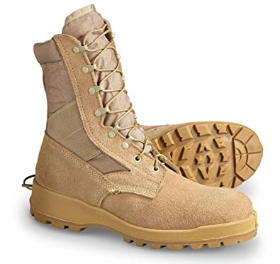 efac161479 Image Unavailable. Image not available for. Color  Wellco US Military Desert  Tan Men s Combat Boots ...