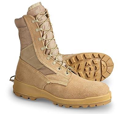 Amazon.com  Wellco US Military Desert Tan Men s Combat Boots 14.5 R ... 059c721a9e5