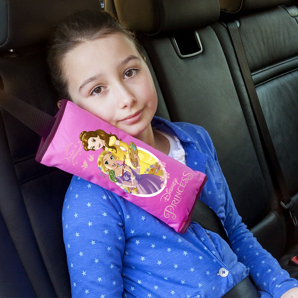 Frozen Princess Safety Belt Pad Car Seat Belts Cover for Kids Genuine Disney