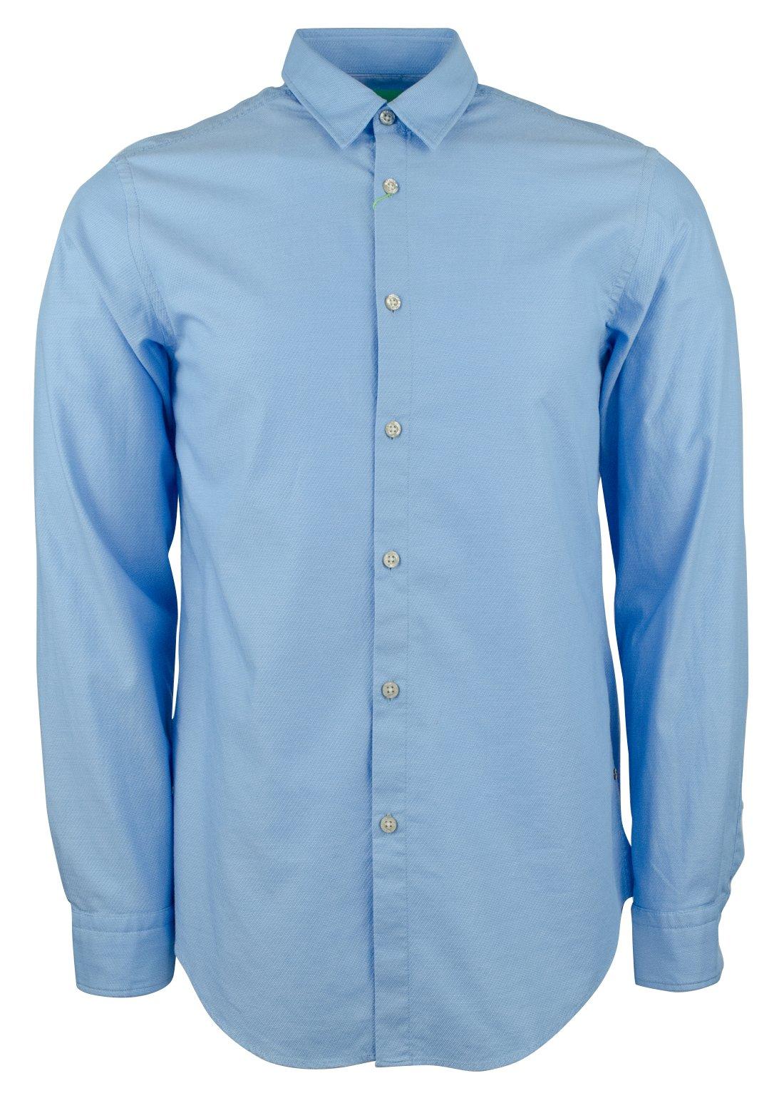 Hugo Boss Men's Green Label C-Bustai Regular Fit Patterned Shirt-B-XL