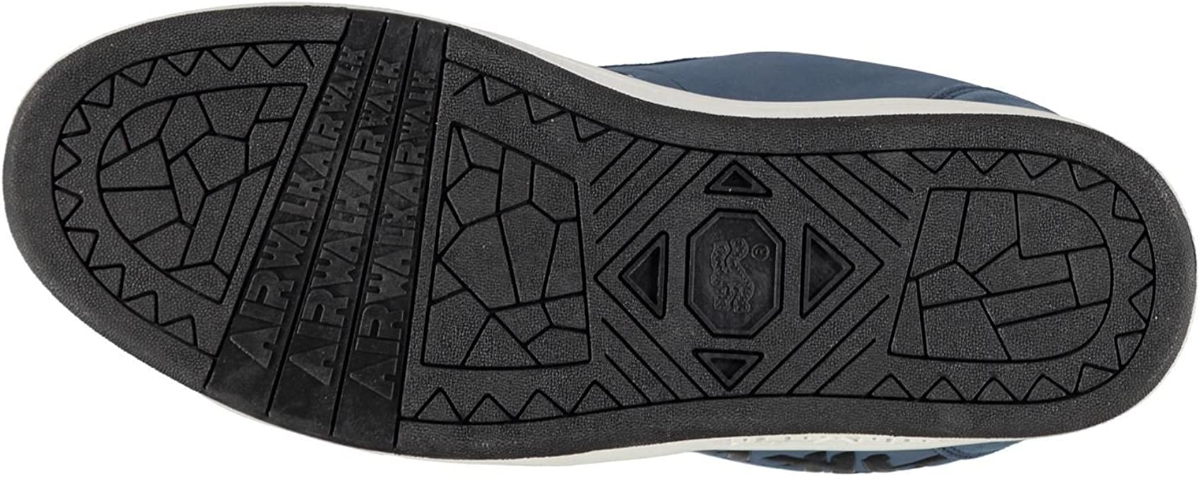 Airwalk Neptune Chaussures de Skate Homme Bleu Marine d/écontract/é Baskets Sneakers