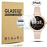 Diruite 3-Pack for Kate Spade Smartwatch Scallop Tempered Glass Screen Protector [Anti-Scratch] [Perfectly Fit] [Optimized version] - Permanent Warranty Replacement